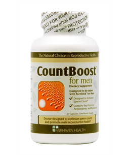 How count boost helps to increase the sperm count?