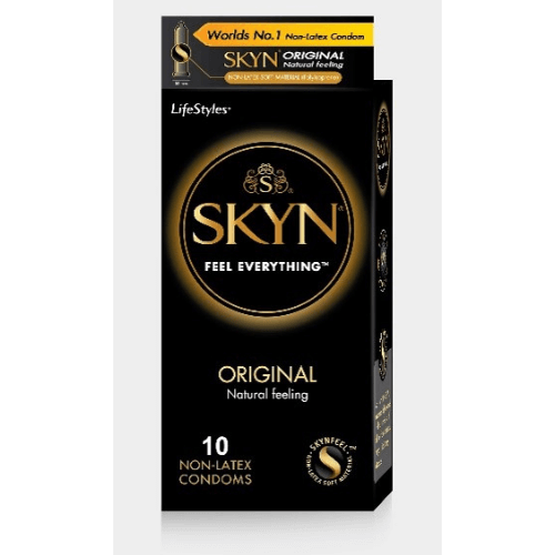 Kamasutra skyn original non-latex condoms - Latex free condoms - Pack of 3s X 4