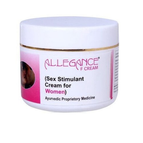 Allegance F Sex Stimulant & Libido Enhancer cream for Female