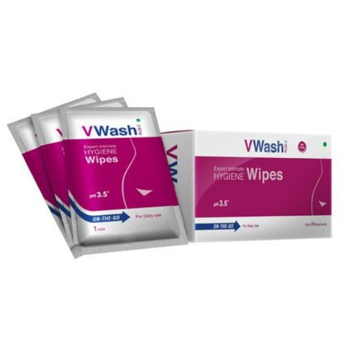 Vwash Plus Wipes 10's pack
