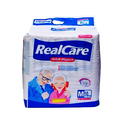 Realcare adult diaper premium - Medium