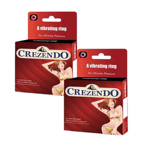 Moods crezendo vibrating ring combo pack of 2