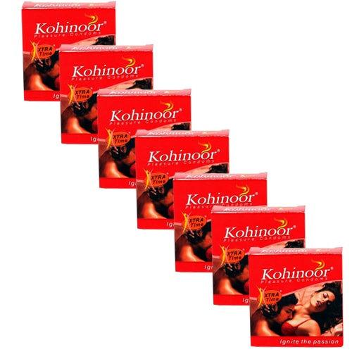 Kohinoor xtra time pleasure condoms 3