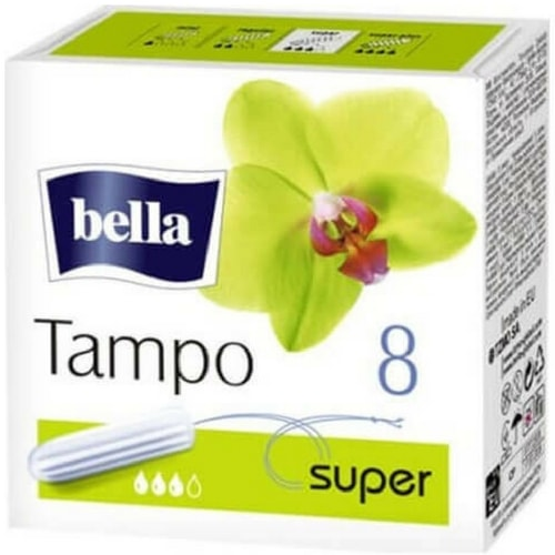 Bella super tampons 8s x pack of 3
