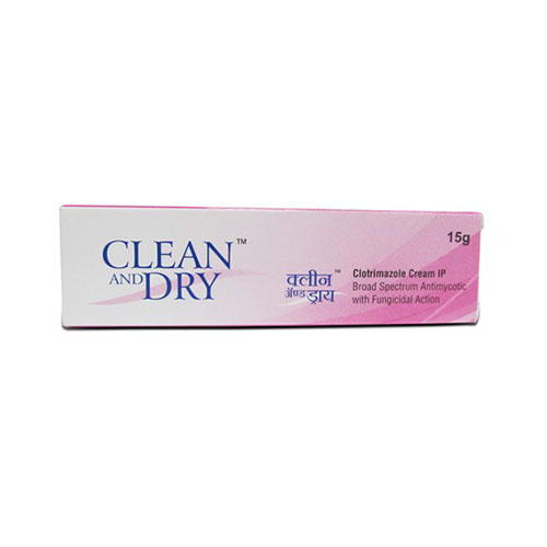 Clean and dry cream 15gm