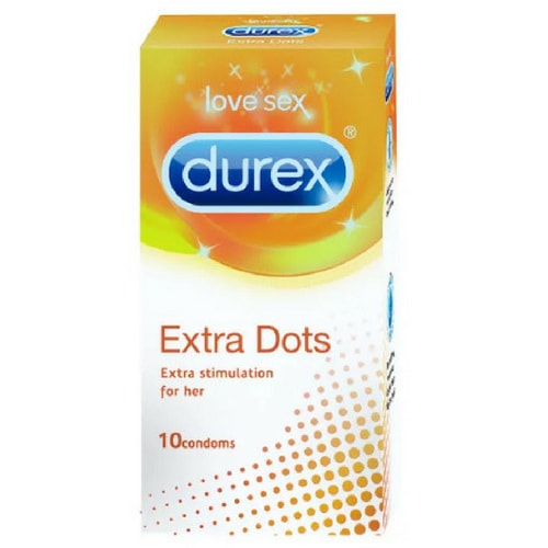 Durex Extra Dotted Condoms