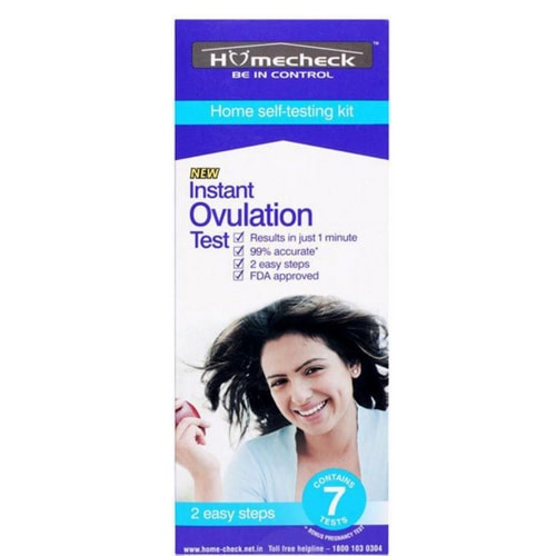 Homecheck Instant Ovulation self testing kit