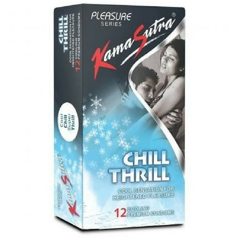 Kamasutra chill thrill condom 12s x 2