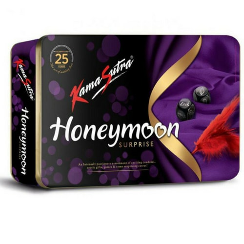 Buy Ks Honeymoon Surprise Condoms Gift Pack Kamasutra Honeymoon
