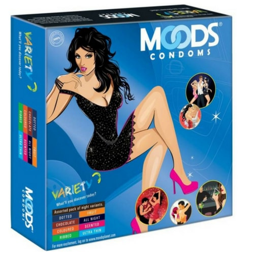 Moods Variety Pack, best condoms for first time use