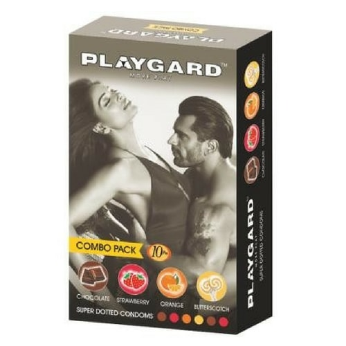 Playgard Super Dotted Condoms 10