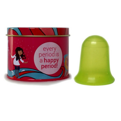 Stone soup wings - Menstrual cup without stem