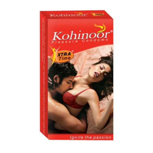 Kohinoor Xtra Time | Buy Kohinoor Extra Time Condoms Online at Best Price in India | shycart