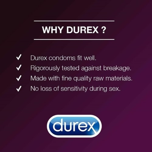 Durex Extra Time Condoms - 0.070 mm thin - Long Lasting Condoms - Pack of 10