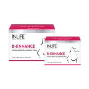 Inlife natural breast enlargement cream (100g) - pack of 2