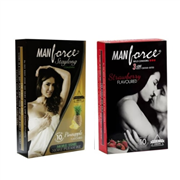 Manforce Banana and Pineapple Flavoured Condoms Combo