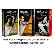Manforce Flavoured Condoms Combo Pack of 10