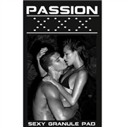 Passion xxx sexy granule pad box of 5 strips